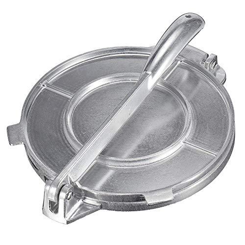 6,5-Zoll Tortilla Presse Aluminium Tortillapresse Presspfanne Schweres Restaurant Kommerzielles Aluminium Tortilla Pie Maker Presswerkzeug