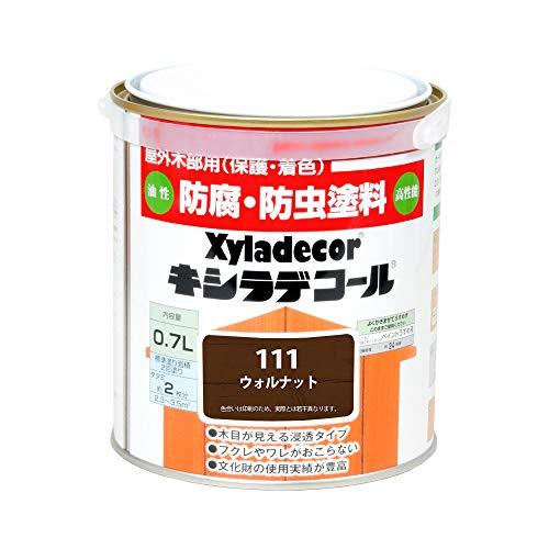 大阪ガスケミカル株式会社 キシラデコール ウォルナット 0.7L