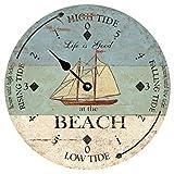Tide Dial Beach Clock