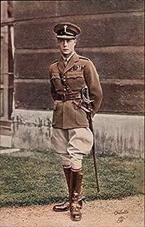 HRH The Prince of Wales Edward Albert Christian George Andrew Patrick David Original Vintage Postcard