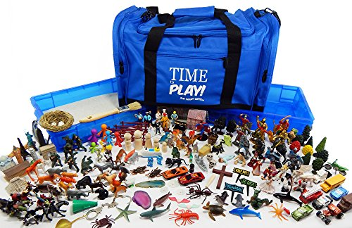 Play Therapy Sandtray Premium Portable Starter Kit