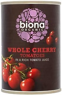 Biona Organic Whole Cherry Tomatoes , 400 g
