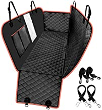 look envy Heavy Duty Dog Back Seat Cover Protector,Waterproof and Scratch-Proof 600D Oxford Cloth Rear Seat Cover,Pet Dog Hammock Back with Mesh Window for Cars, Trucks & SUVs