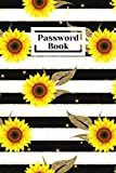 PASSWORD BOOK: Be srong, Be Unique, password book with alphabetical tabs
