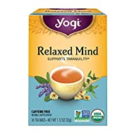 Yogi Tea - Relaxed Mind (6 Pack) - Promotes Tranquility - 96 Tea Bags