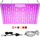 Roleadro HY-08 Rolledro Lights, 300W UFO LED Indoor Patio Grow Lamp with Red Blue Spectrum Hydroponics Plant Kit for Home Grower
