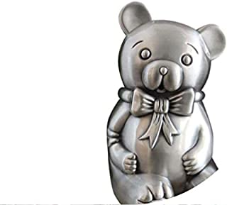 Yadianna Decorations Art Craft Child Money Bank Money Boxesbear Tin Can Coin Piggy Bank