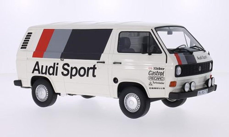 VW T3 Kasten, Audi Sport, 1980, Modellauto, Fertigmodell, Premium ClassiXXs 1 18