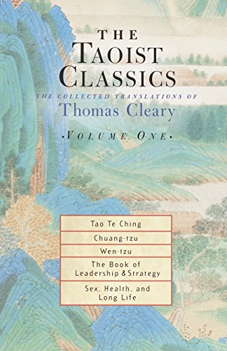 Compare Textbook Prices for The Taoist Classics, Volume One: The Collected Translations of Thomas Cleary 1st Edition ISBN 9781570629051 by Cleary, Thomas