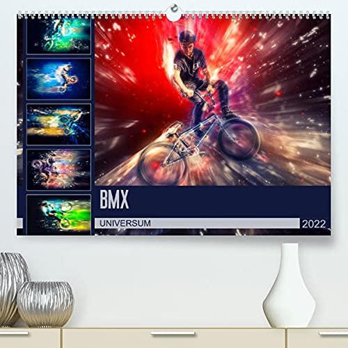 BMX Universum (Premium, hochwertiger DIN A2 Wandkalender 2022, Kunstdruck in Hochglanz): Farbgewaltige Bilder vom BMX Fahrern in Ihrem Universum (Monatskalender, 14 Seiten )