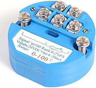 PT1000 salida de 0-10 V o 4-20 mA Medidor de temperatura exterior activo