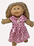 Doll Clothes Superstore Shiny Princess Dress Fits Cabbage Patch Kid and 15-16 Inch Baby Dolls