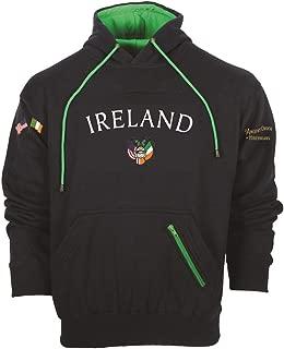 Silky Sullivan Collection Embroidered Ireland Hooded Sweatshirt