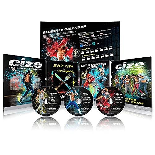 Beachbody Shaun T's CIZE Dance Cardio Fitness DVD Package: 6 Hot Dance...
