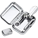 Kupink Posacenere Portatile Mini portacenere antiodore Portacenere da Fumo Tascabile da Portare Facilmente in Viaggio