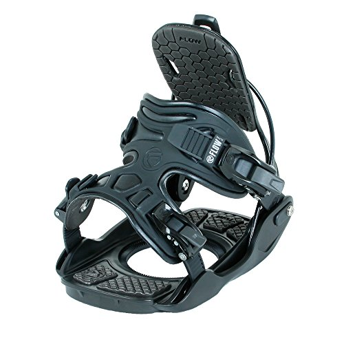Flow Alpha Snowboard Bindings 2018 - Men's Black X-Large