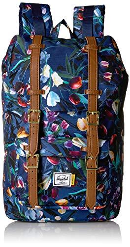 Herschel Little America Rucksack mit Laptophülle, Royal Hoffman/Tan Kunstleder (mehrfarbig) - 10020-02734-OS