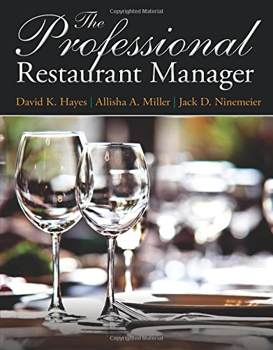 The Professional Restaurant Manager (Myculinarylab)