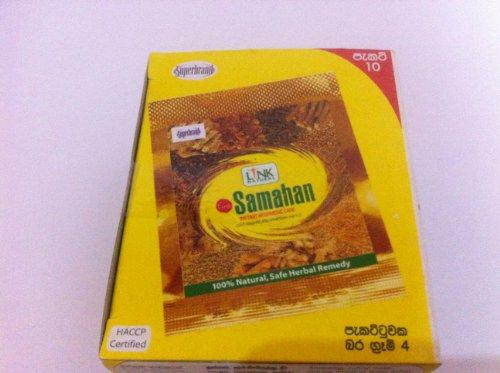 Samahan Ayurveda-Kräuter Ceylon Tee 100 paket