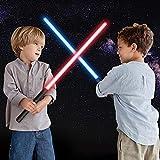 JDKC- Sable de Luz de Metal para Adultos Niños, 2 en 1 Sable de Luz Recargable LED FX con Conector, Empuñadura de Aluminio de Metal Accesorios de Cosplay, Regalo (Color : 2pcs)
