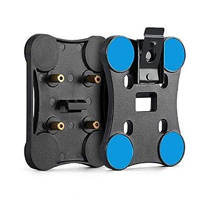 BOBLOV Magnetic Mount Clip for HD66-02 Body Camera Only for HD66-02 Body Camera, Cant Use for Other Model by BOBLOV