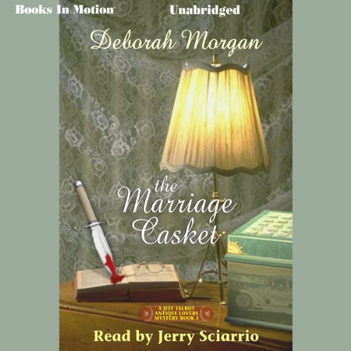 The Marriage Casket audiobook cover art