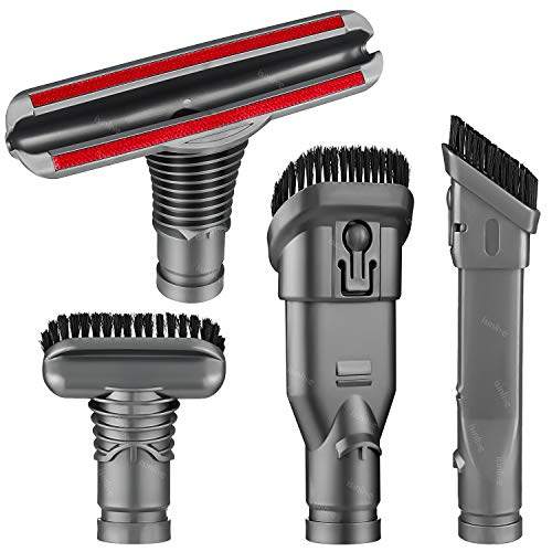 isinlive Motorhead Replacement for Dyson V6 DC30 DC31 DC34 DC35 DC39 DC41 DC44 DC45 DC52 DC58 DC59 DC61 DC62 DC63 DC74 Attachments Home Cleaning Tools Brush Kit