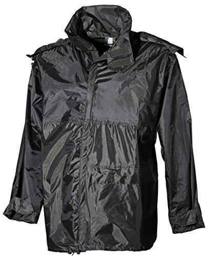MFH Regenjacke Polyester Oliv Regenkleidung Regen Poncho Outdoorjacke Camping S-XXL (L)