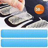 UYGHHK 50 Pcs/25 Pack Gel Pads for Abs Stimulator Ab Trainer Replacement Gel Sheet for EMS AB Stimulator Gel Pad for All Abdominal Belts Muscle Stimulator Ab Toner