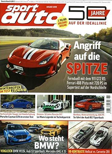 Sport Auto 11/2019 'Angriff auf die...