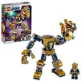 LEGO 76141 Super-héros Marvel Avengers Le robot de Thanos, Set de jeu, Figurine de bataille, Set Junior pour enfants de 6 ans et plus