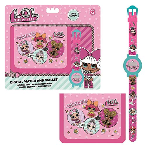 LOL SURPRISE Set Regalo Billetera y Reloj Digital (26-0460) 1