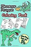 Dinosaur Dragon Coloring Book: Dino Drag Activity Book Legend Coloring Age 4-10