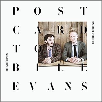 Postcard to Bill Evans