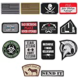 """14er Tactical Morale Patches (14-Pack) 