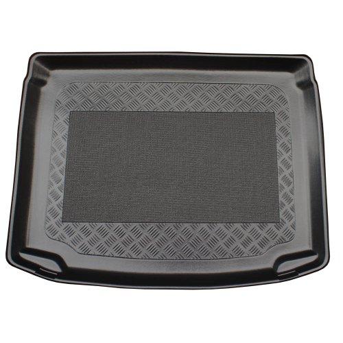MDM Kofferraumwanne Golf VI Plus (5K) ab 04.2009-, Kofferraummatten Passgenaue mit Antirutsch, Passend für vert. Ladefl; ohne Varioboden und mit Not-Rad, cod. 3698