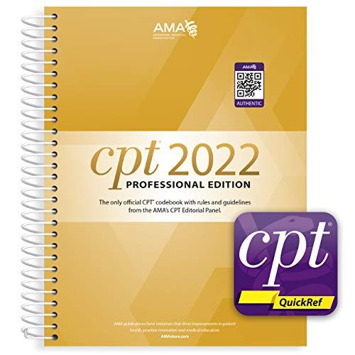 CPT Professional 2022 and CPT Quickref App Bundle