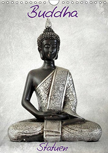 Buddha Statuen (Wandkalender 2019 DIN A4 hoch): eine Feier des Buddhismus (Monatskalender, 14 Seiten ) (CALVENDO Orte)