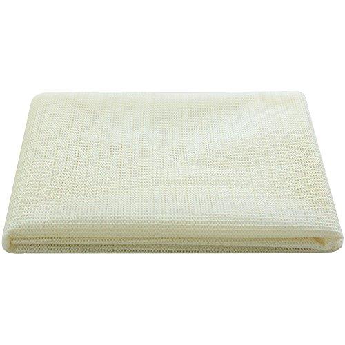 Lusee Tappetino Antiscivolo / Antiscivolo per tappeti / Sottotappeto / PVC Protezione Antiscivolo per tappeti e Zerbino / Formato: 150*150cm