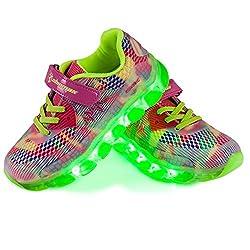quality design a809f 7e3b3 ᐅ LED Schuhe Kinder - Sneaker leucht Kinderschuhe✓