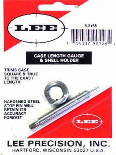 Lee Precision 90126 Galga con Shell Holder Calibre 6.5X55, Multicolor, Talla Única