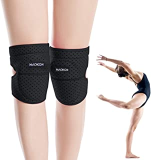MAQKON膝当て (ひざサポーター)作業用 ひざ当てパッド 膝パッド サポーター ス 掃除 農作業 両膝セット 男女兼用