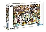 Clementoni- Puzzle 6000 Piezas Gala Disney (36525.8)