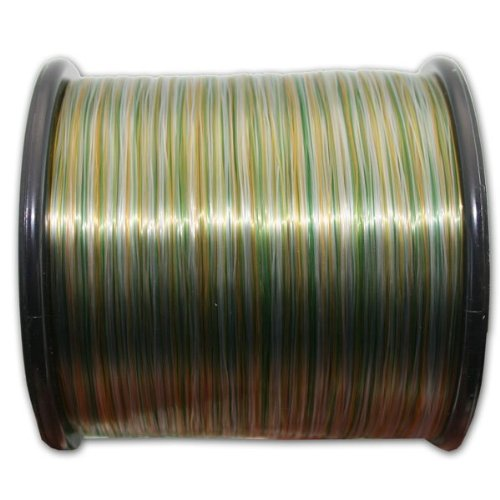 NGT Spool of Camo Line, Green, 15 lb/1300 m