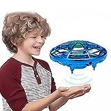 UFO Drohne, Mini Drohne Kinder Fliegendes Spielzeug Handgesteuerter Infrarot Induktions Fliegender Ball RC Drone mit Helle LED, UFO Mini Flugspielzeug Drohne Spielzeug Geschenke für Jungen Mädchen