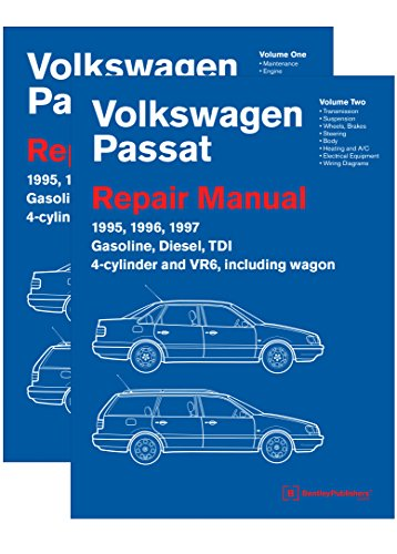 Volkswagen Passat (B4) Repair Manual: 1995, 1996, 1997: Including Gasoline, Turbo Diesel, Tdi 4-Cylinder, Vr6, and Wagon
