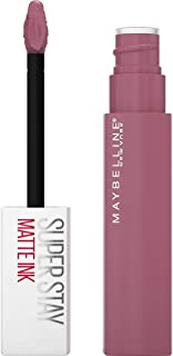 Maybelline New York, SuperStay Matte Ink, Pintalabios Mate de Larga Duración, Tono 180 - Revolutionary, Fucsia Claro