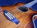 chitarra elettroacustica 12 corde - koa - serie 20° anniversario - faltdkoaoc12