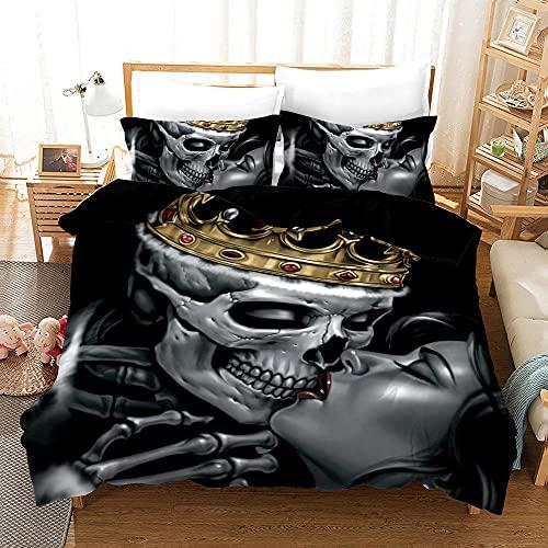 Bedclothes-Blanket Juegos de Fundas para edredón,Caso 3D Impresión Digital de Ropa de Cama de Tres Piezas-9_173 * 218