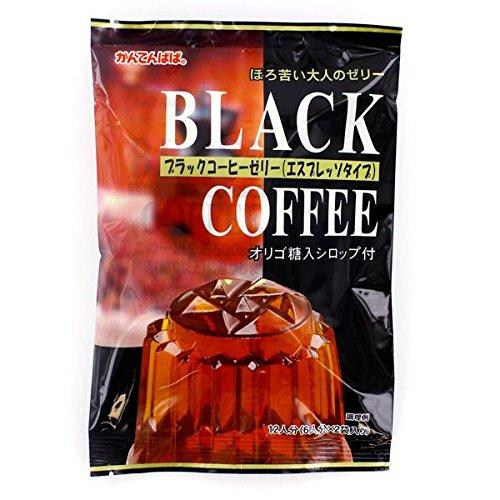 かんてんぱぱ ブラックコーヒーゼリーの素 エスプレッソタイプ 150g×10個セット